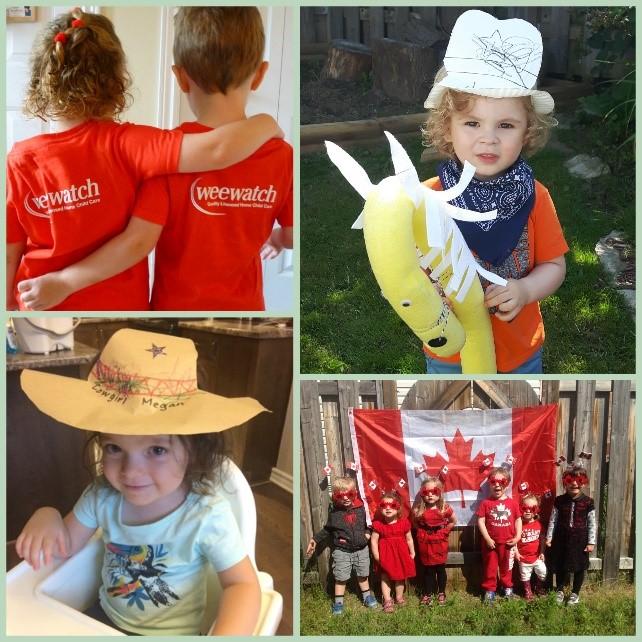 Wee Watch Celebrates Canada 150